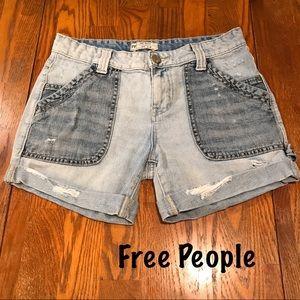 Free People Denim Jean shorts.